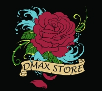 Dmax_Womens_Rose_Shirt_Black