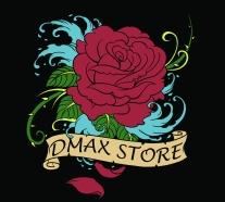 Dmax_Womens_Rose_Shirt_Black